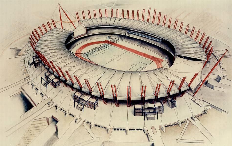 """""""Delle Alpi"""" Stadium"""